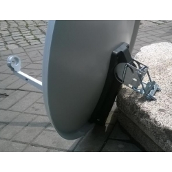 Antena Satelitarna 70 cm NC+N + konwenter single